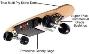 EMAD Electric Skateboard Dirt Rider 800W Model review