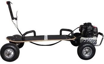 SkaterX 49cc Gas Powered Skateboard