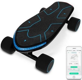 swagtron Spectra Electric Cruiser Skateboard